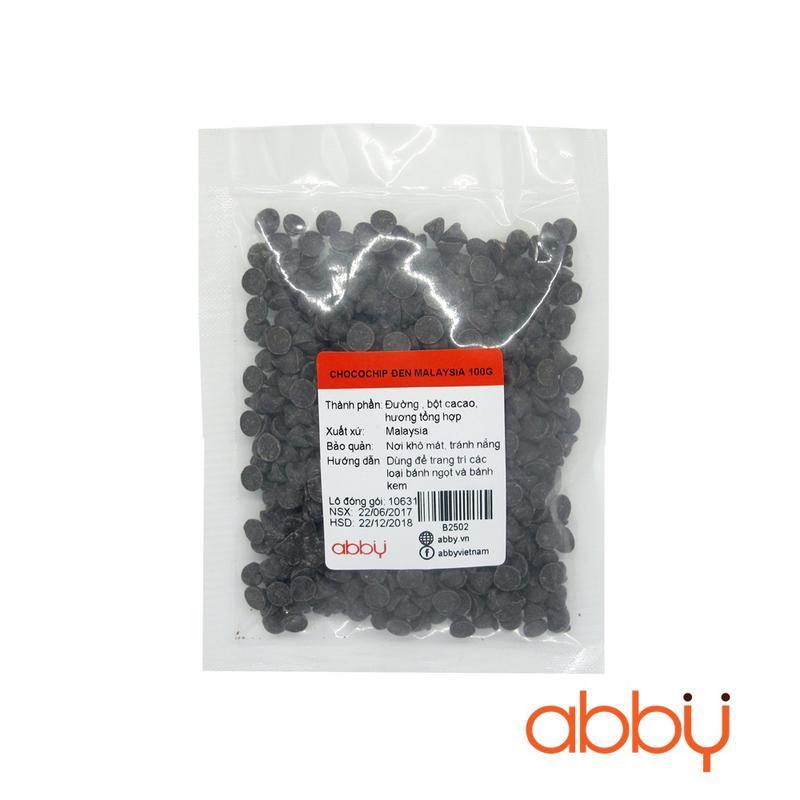 Chocochip đen Malaysia 100g