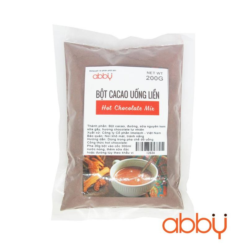 Bột cacao uống liền hot chocolate 200g