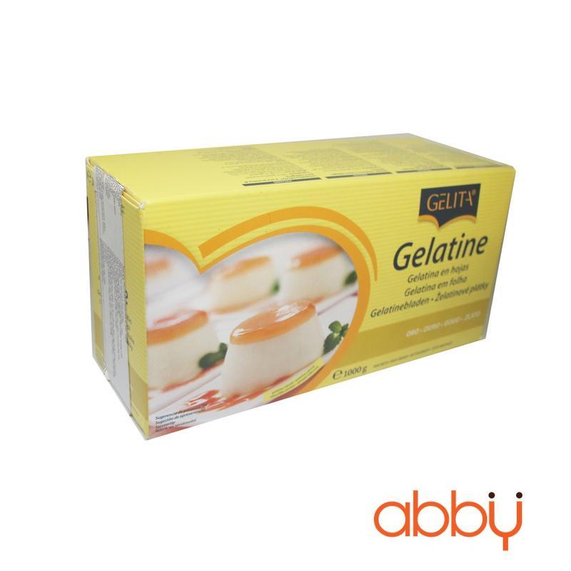 Lá gelatin Gelita GOLD hộp 1kg (1 lá 2g)