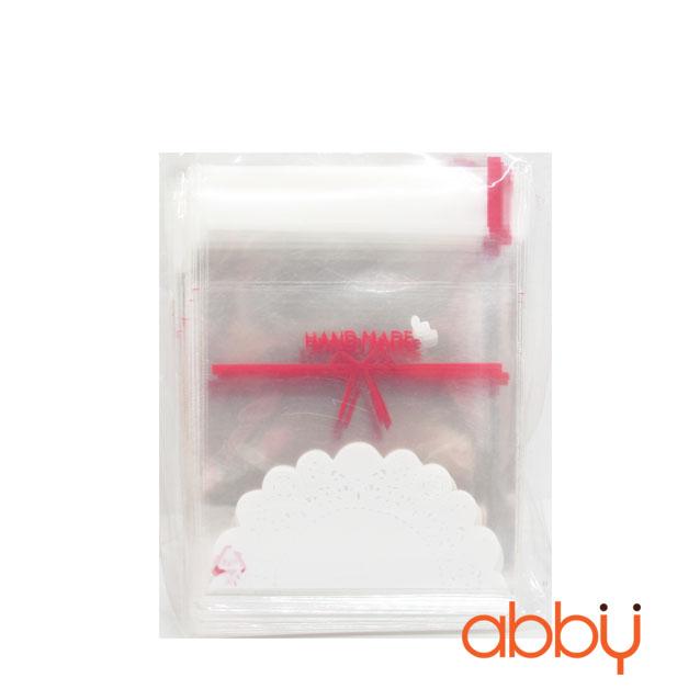 Túi đựng bánh quy Handmade 10x10cm (100 chiếc)
