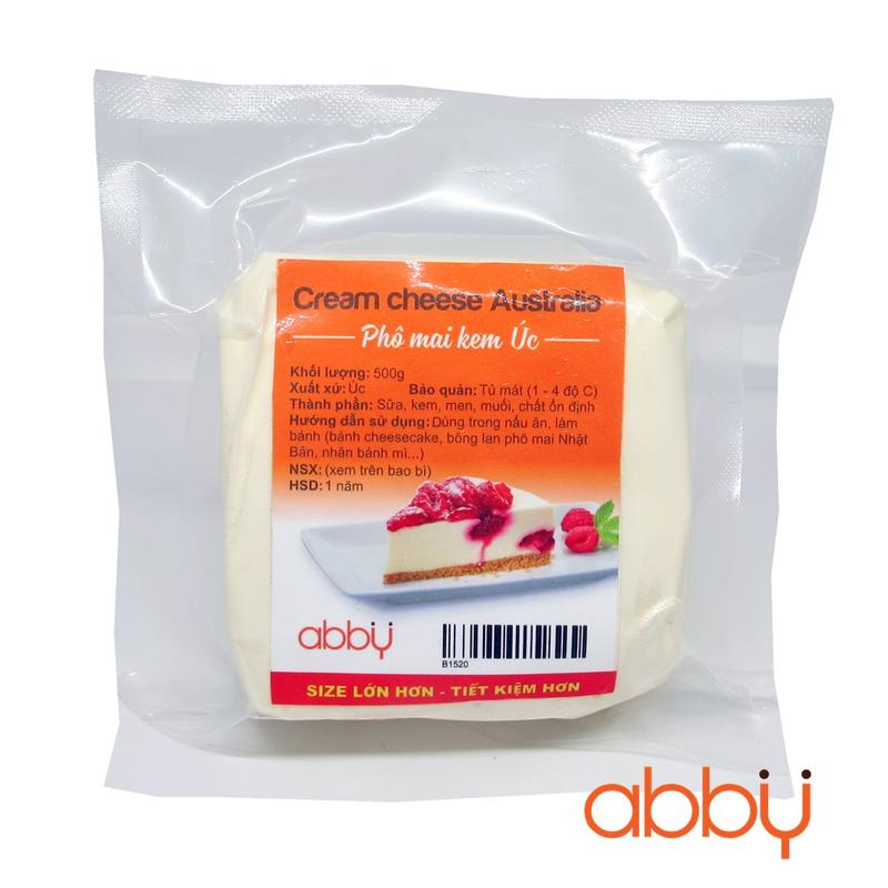 Cream cheese Australia 500g
