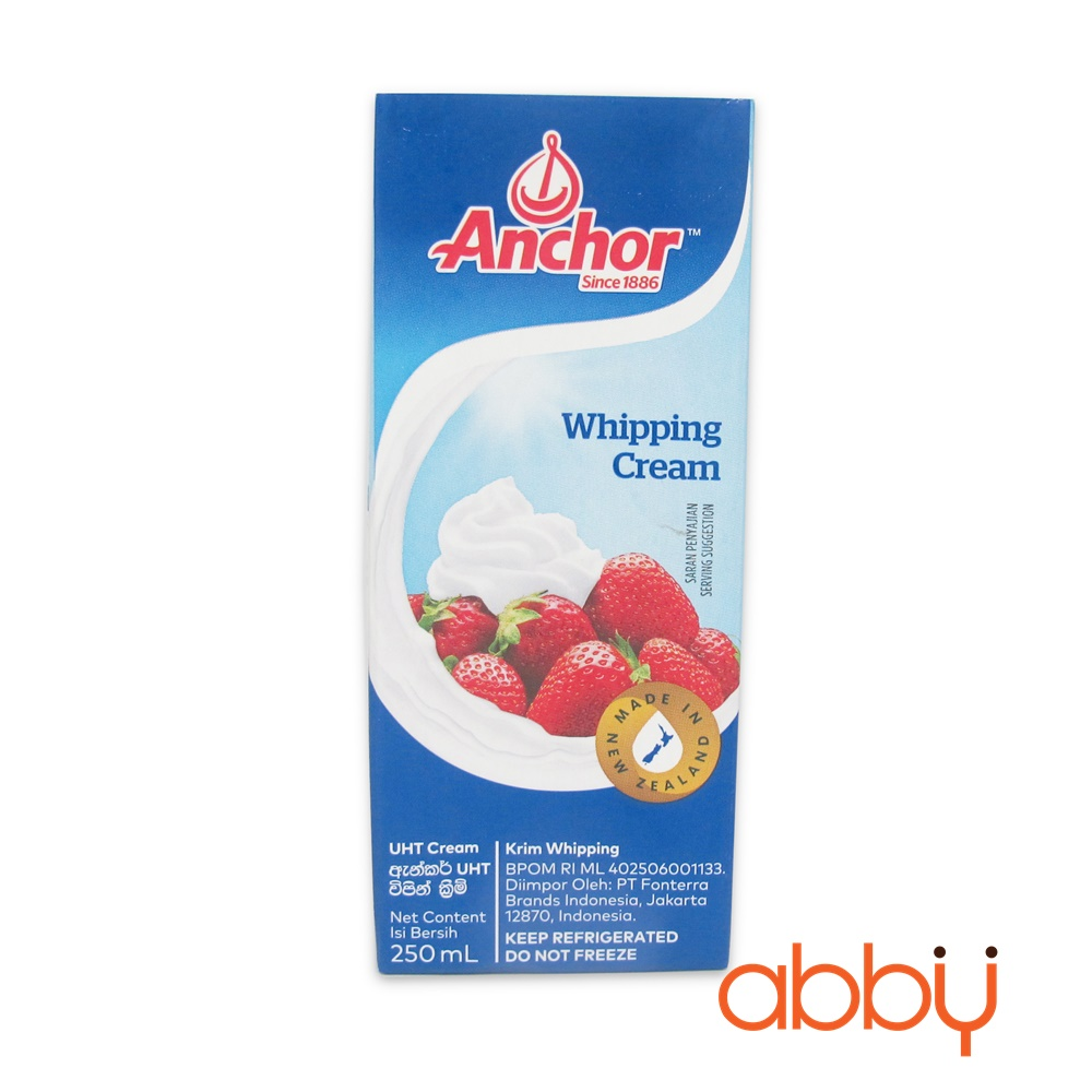 Kem Whipping Anchor 250ml