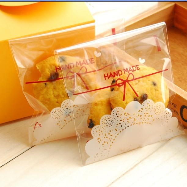 Túi đựng bánh quy Handmade 7x7cm (100 chiếc)