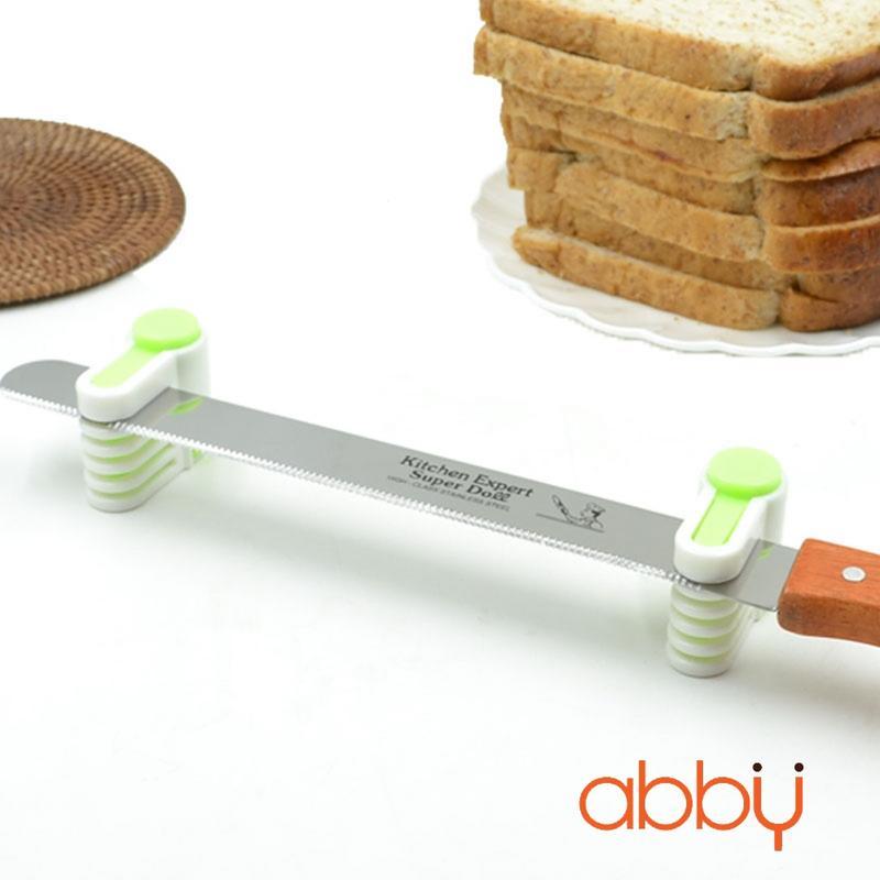 Bộ 2 dụng cụ kẹp dao chia tầng bánh