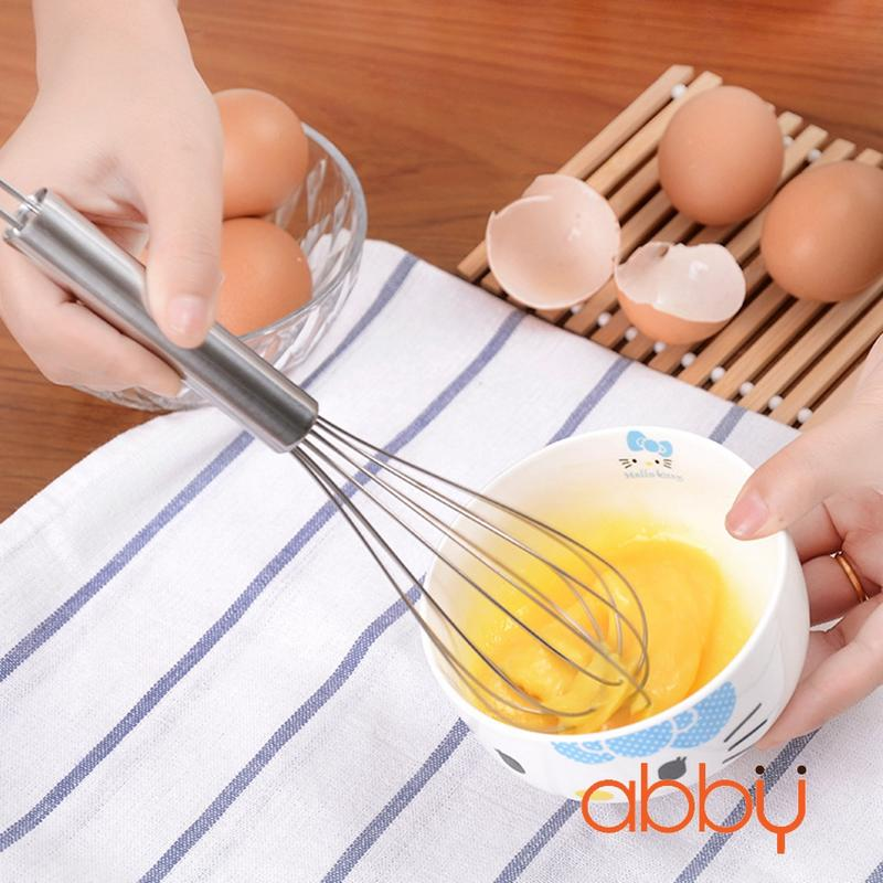 Phới đánh trứng inox 22cm