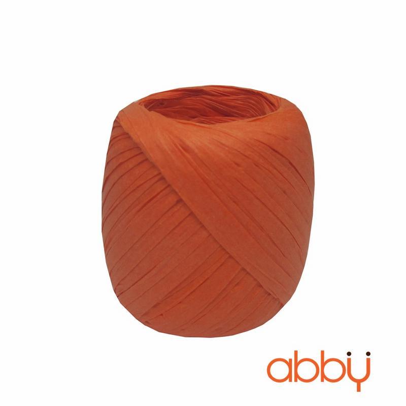 Dây buộc túi cuộn tròn màu cam (20m)