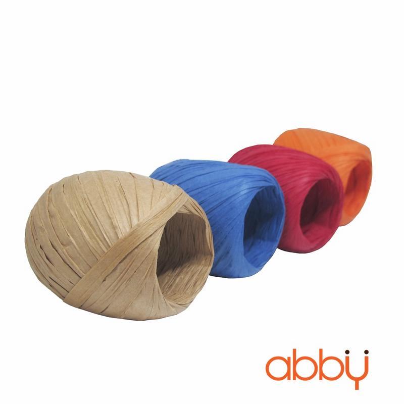Dây buộc túi cuộn tròn màu be (20m)