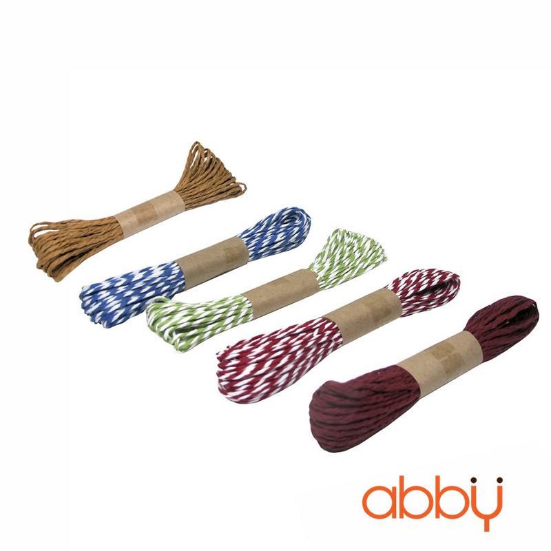 Dây buộc túi cuộn dài màu nâu (10m)