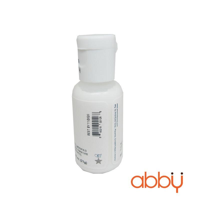 Màu AmeriColor trắng sáng 0.75oz