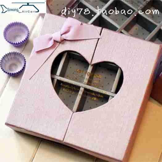Hộp socola 16 viên Just for you màu hồng