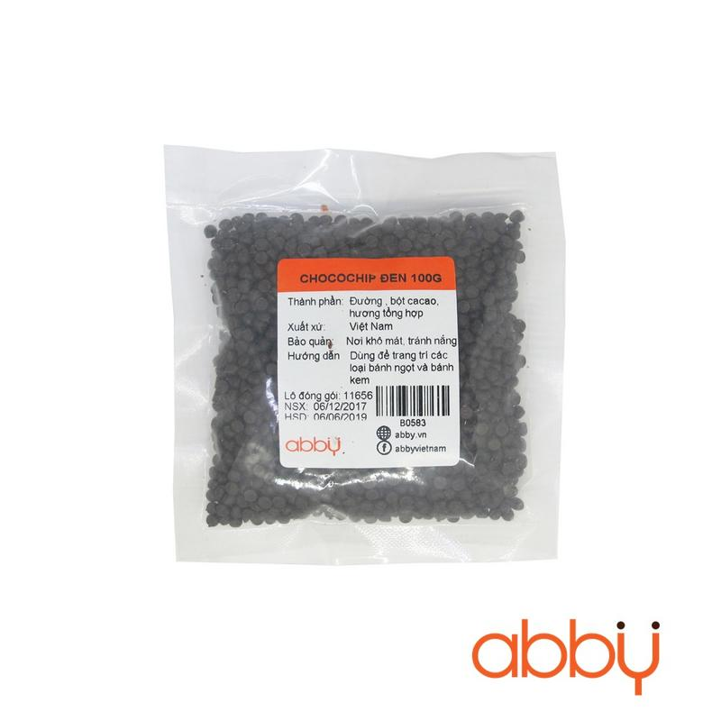 Chocochip đen 100g