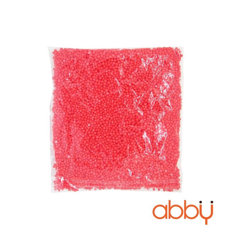 Hạt xốp trang trí màu đỏ (8 - 10g)