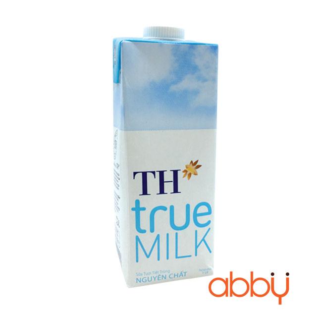 Sữa tươi không đường TH True 1L