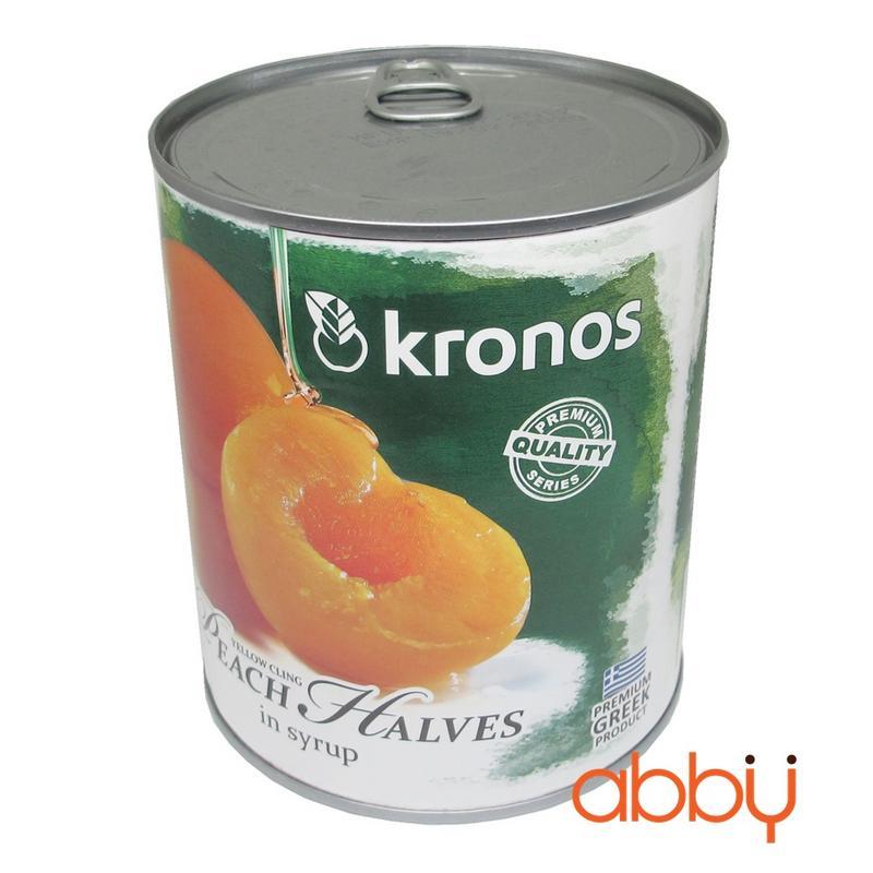 Đào ngâm Kronos 820g