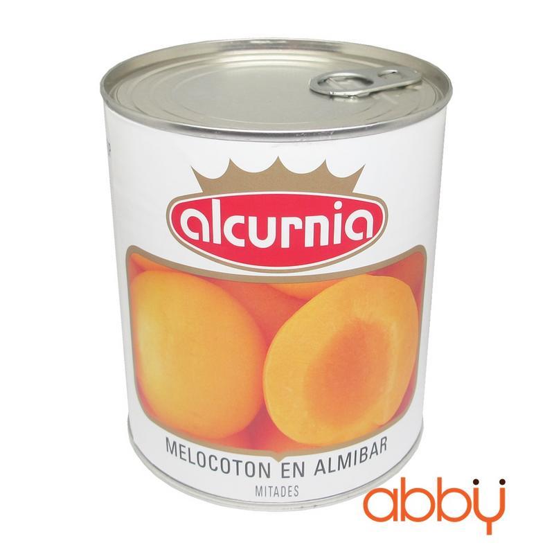 Đào ngâm Alcurnia 850g