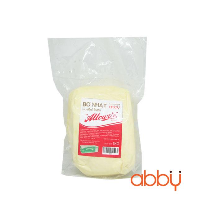 Bơ nhạt Allowrie 1kg