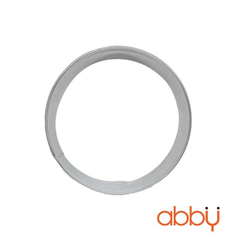 Khuôn ring mousse inox tròn 24cm