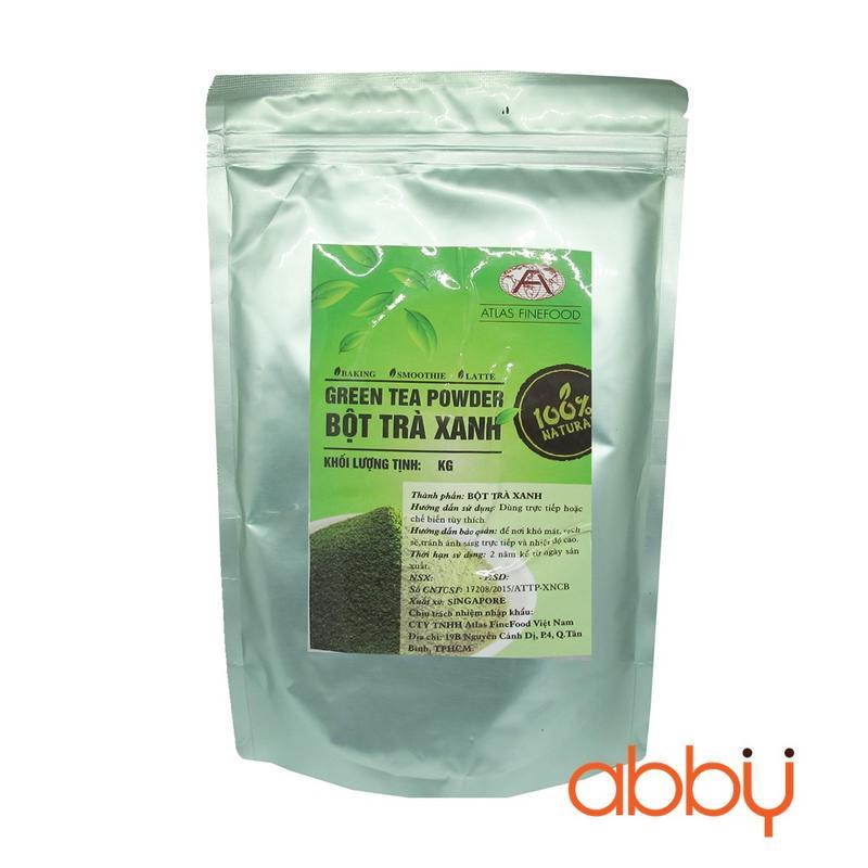 Bột trà xanh 100% tự nhiên 1kg