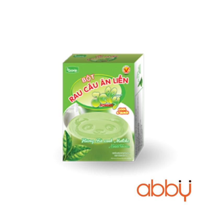 Bột rau câu ăn liền hương trà xanh 60g