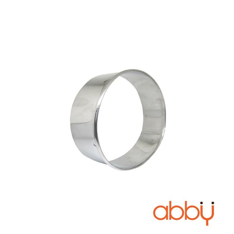 Khuôn ring mousse inox tròn 14cm
