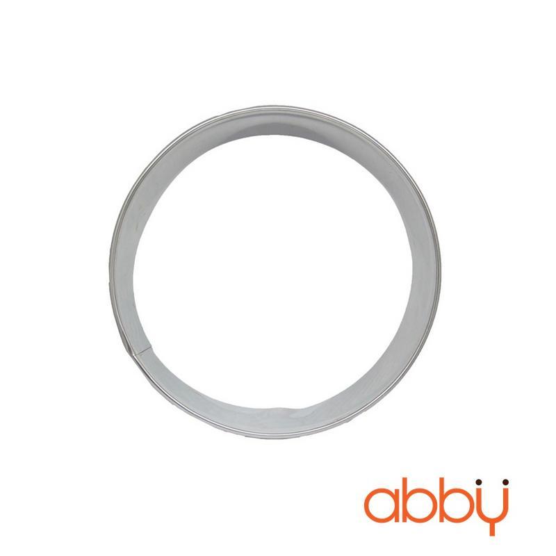 Khuôn ring mousse inox tròn 22cm