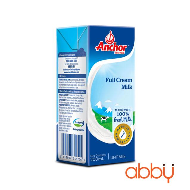 Sữa tươi Anchor nguyên kem 1L