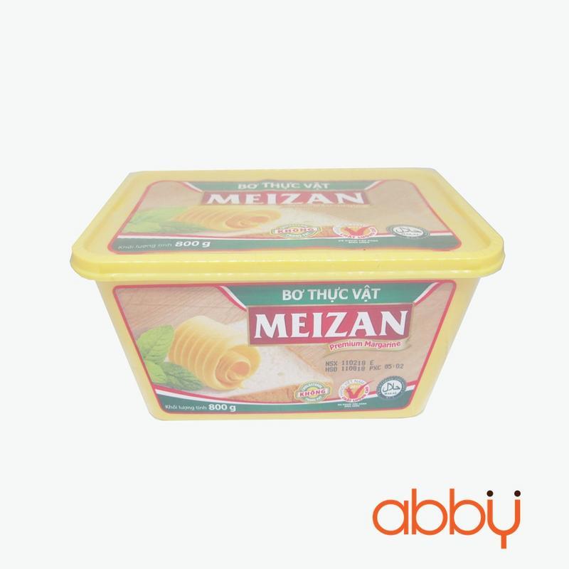 Bơ thực vật Meizan 800g