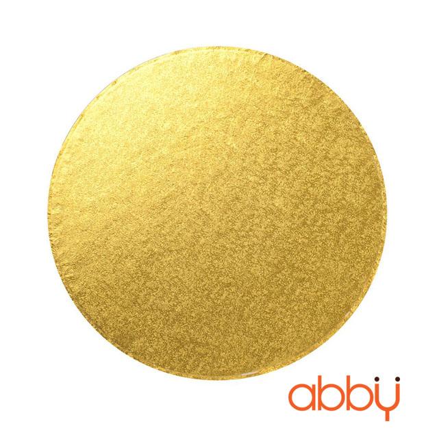 Đế bánh tròn vàng 30cm