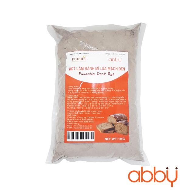 Bột làm bánh mì lúa mạch đen Puratos 1kg