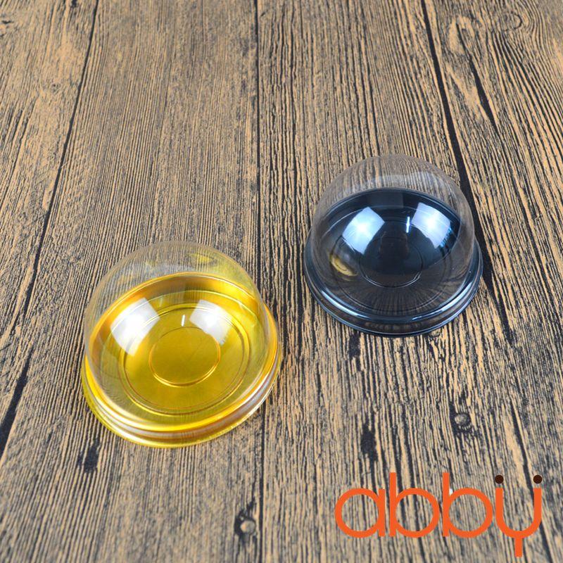 Hộp nhựa tròn XY68 7.5x5.5cm (10 chiếc)