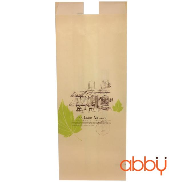 Túi đựng bánh mì Leisure time 29x12x8cm (10 chiếc)