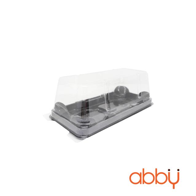 Hộp nhựa 2 ngăn XY165-80 17.5x8x6cm