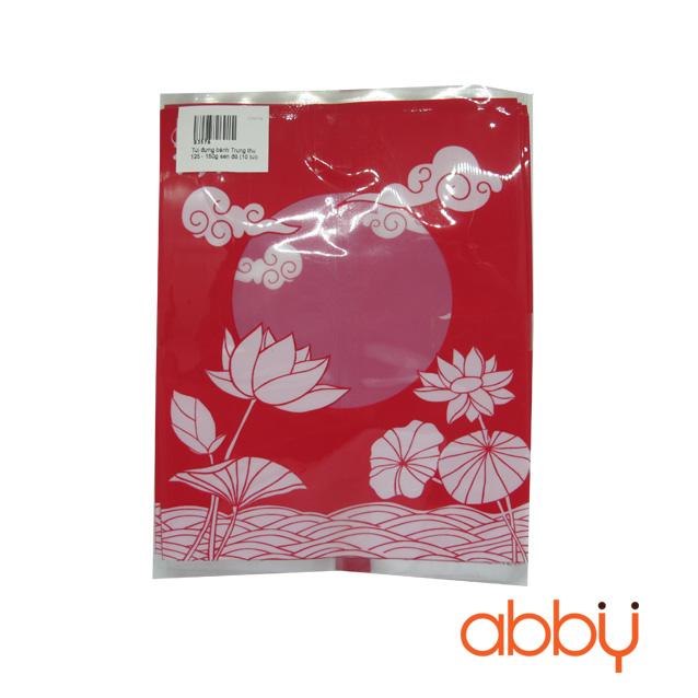 Túi đựng bánh trung thu 125-150g sen đỏ (khoảng 100 túi)