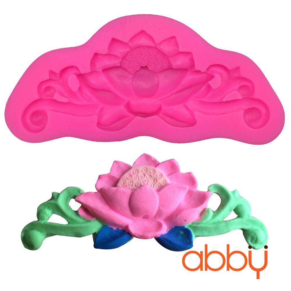 Khuôn silicon 3D hoa sen