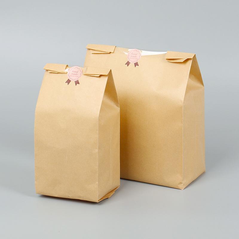 Túi đựng bánh mì trơn 30x12x9cm (10 chiếc)