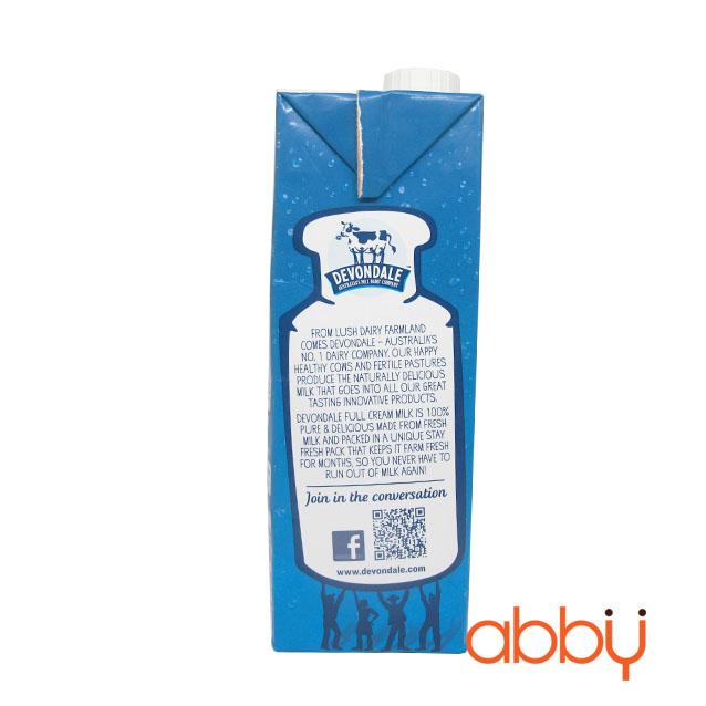 Sữa tươi nguyên kem Devondale 1L
