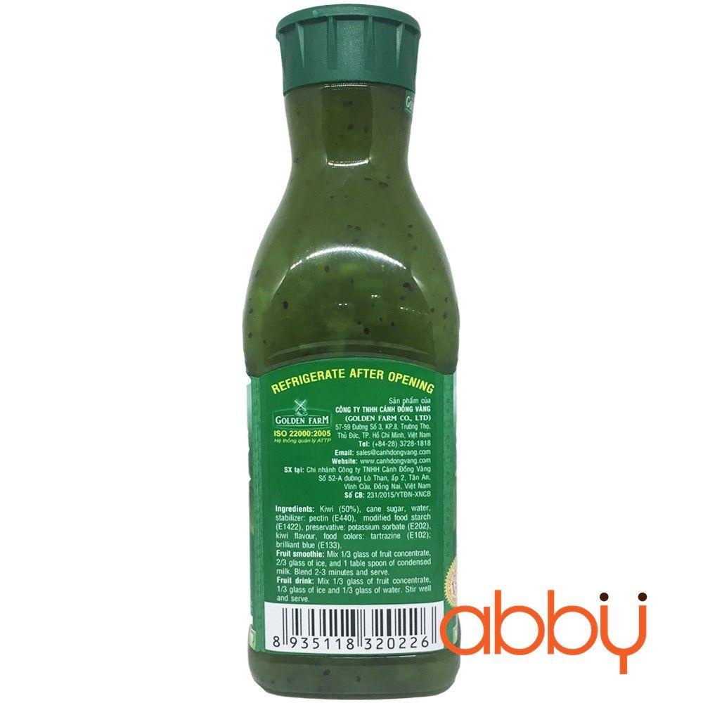 Sinh tố kiwi Golden Farm 1L