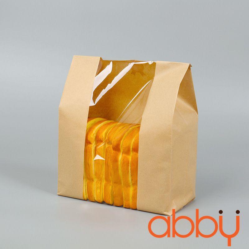 Túi đựng bánh mì trơn 32x21x10cm (10 chiếc)