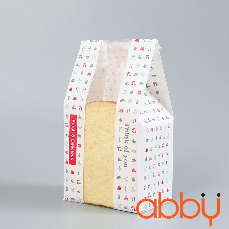 Túi đựng bánh mì Think of you 30x12x9cm (10 chiếc)