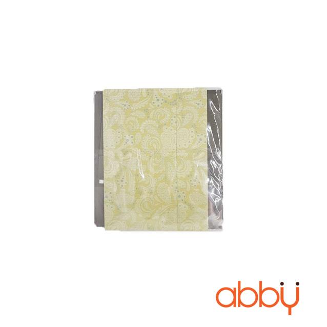 Hộp giấy dạng ngăn kéo màu vàng 16.5x8.5x3.5cm