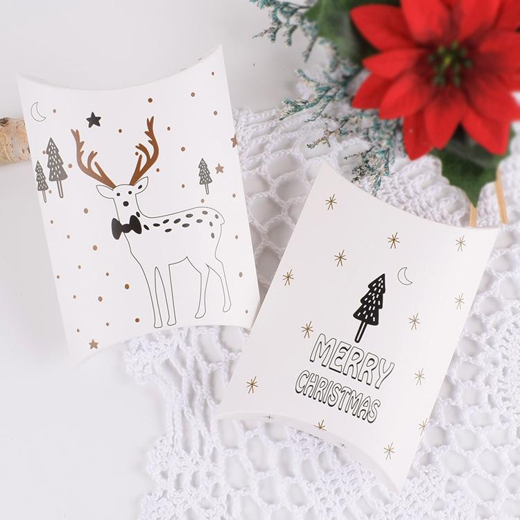 Hộp giấy chữ nhật 14x10cm Merry Christmas