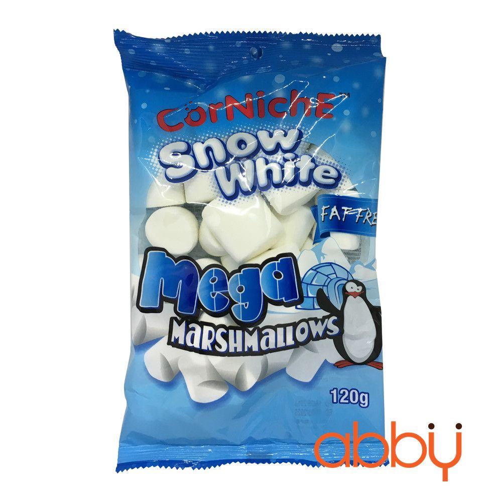 Kẹo marshmallow Snow White CorNiche 120g