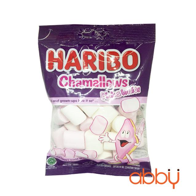 Kẹo marshmallow Pink & White Haribo 70g