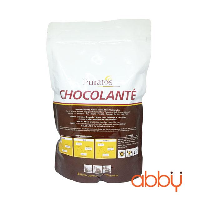 Socola đen nguyên chất 65% Grand Place 1kg