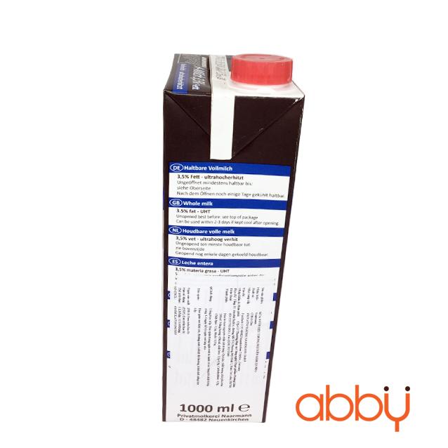 Sữa tươi nguyên kem 3,5% Naarmann 1L