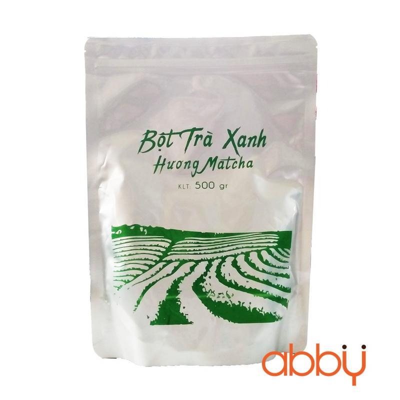 Bột trà xanh Đài Loan Everstyle 500g
