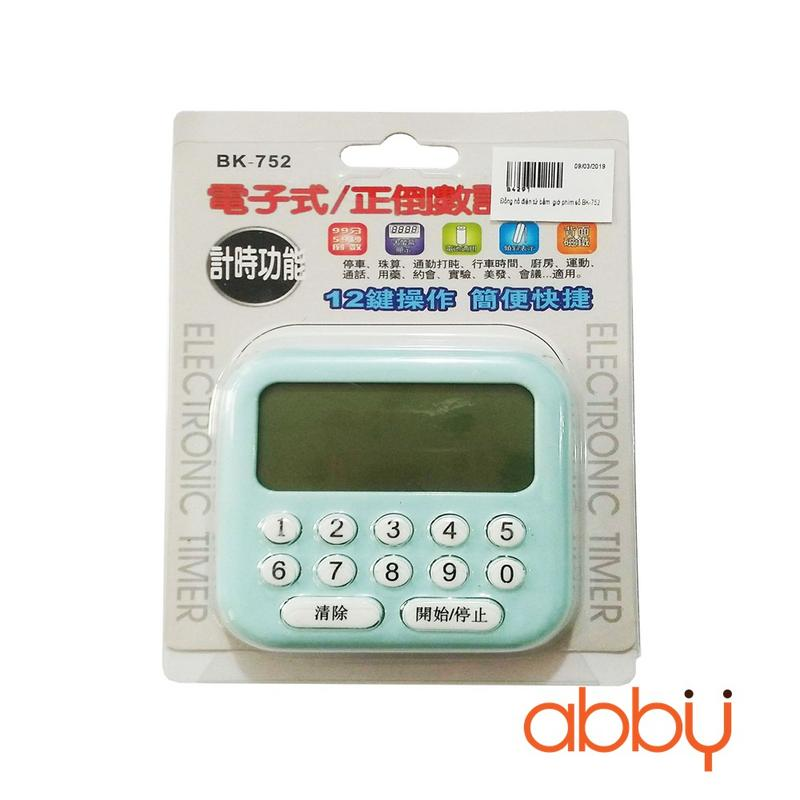 Đồng hồ điện tử bấm giờ phím số BK-752