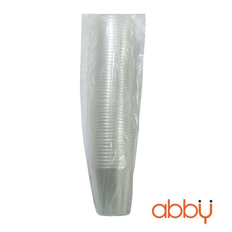 Cốc nhựa PP 500ml (dây 50 cốc không nắp)