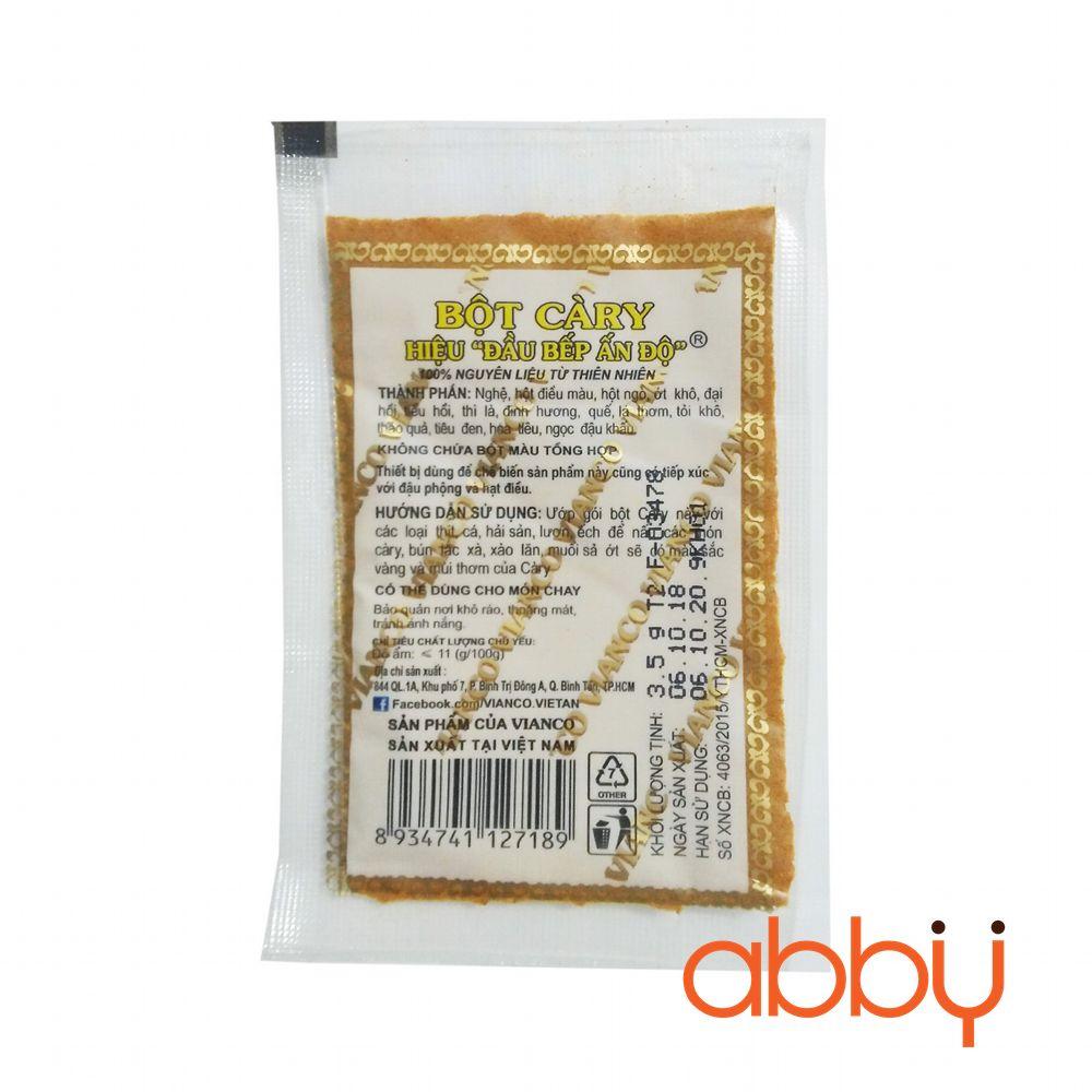 Bột cà ri Ấn Độ 3.5g