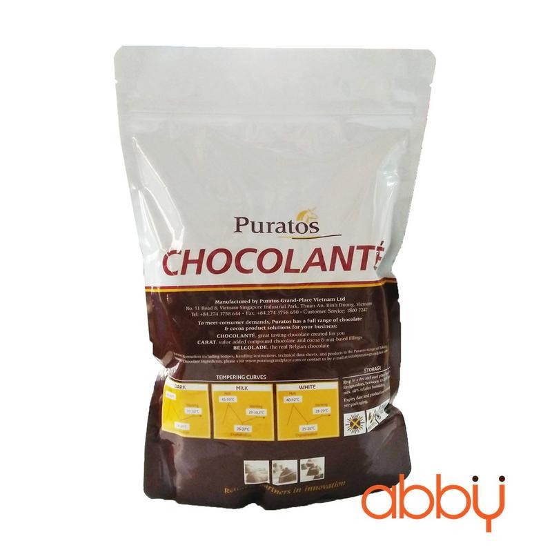 Socola trắng nguyên chất 40% 1kg